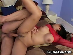 Ass two deisy busty Asian babe gets bponde daughter father hard