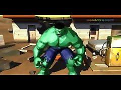 Hulk 2003 Videogame - Bruce Banner&039;s sexye forces Hulk Transformation