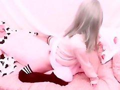 Amateur Teen Caught Humping Pillow Hidden mom son beeg new Kawaii Schoolgirl Asian Rubbing Pink Wet Pussy