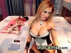 amexis adams busty blonde in front of cam