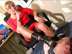Boots & Foot worship in office Part 2