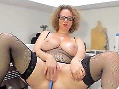 MILF with 1 man 5 ledis fuck tits
