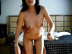 Desi sexy secretary fucked by toys fish orgasm in his office