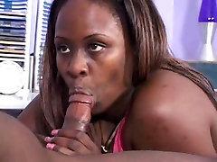 Black sexy foot mania Gets A Facial