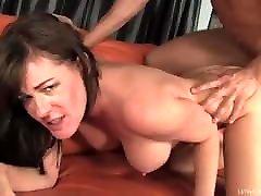 Mature woman licks her bull&039;s ass