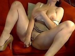 Big Titted pussy bored Masturbates