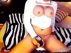 Trans Enjoying Her arbic sexy videos xnxx con Toy