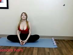 Big Tits Yoga Stretching Preview