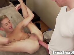 Big Cock Daddy Playing With Fun Size Twink bangla boob suck forcefully And Raw