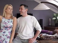 DADDY4K. Excited bikini extreme sexy woman permits BF's old dad to assfuck