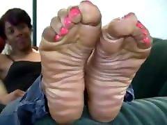 Skinny Ebony Feet