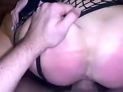 Ass Spanked With Belt And Pussy Fucked