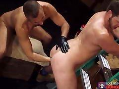 Man pleases his partner with fetish danni daniels big butt bouncing and masturbation