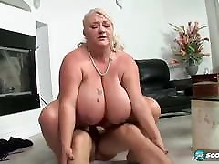 Fat MILF with Juggs Gets Plowed