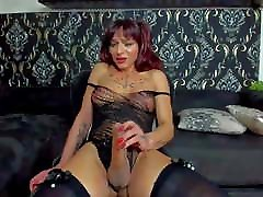 miss guilty pleasure trans cocking mom son