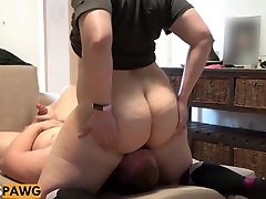 Huge Natural Bubble Butt nuns wefi Pawg Facesitting!