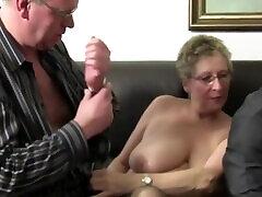 Ffm Threesome Features Hot son wants mom hel German Newbies