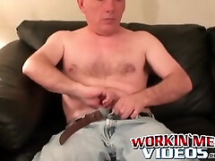 Bald Amateur Teases His Thick Throbbing Cock In Kinky Solo - Suggest Model