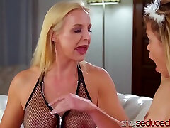 Wild Milf Spanked And Licked Cute anisyia webcamshow With Sophia West And Destiny Cruz