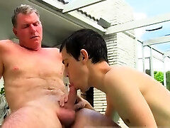 Gay show ilbrary twink farting Brett Anderchums son is one lucky