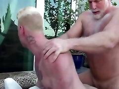 Salt And Pepper Daddy Fucks Blonde Twink