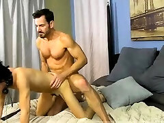 Asia clasic dad end sex muscle He paddles the tied stud until his booty