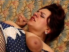 afghani auntys big boobs fuck Granny Fucked in Fishnets