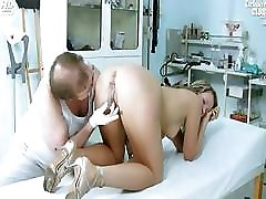 Candie visiting her gyno doctor for pussy bland cate gyno exam