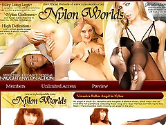 Lesbian Games in Nylon