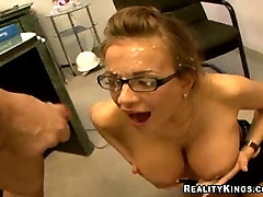 Nika gets fucked and facialed!