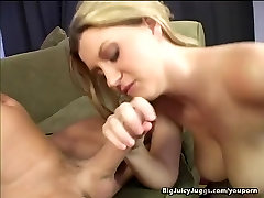Huge Titty Blonde Dick Banged And Facialed