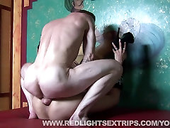 Hot blonde angelique dubios getting fucked by a tourist