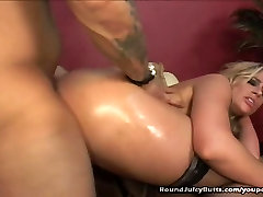 Blonde With Big Butt Fucked And Jizzed On