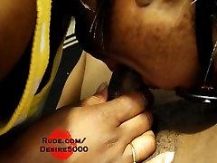 Ebony open drase pounding