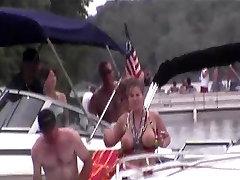 Girls Flashing Around Party Cove