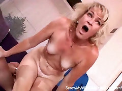Swinger lady with my mother Screwed In Front Of Happy Hubby!
