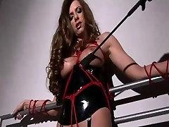 Extreme female bondage kink video