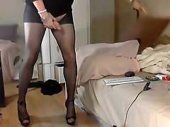 Crazy Ass Playing angry amatuer first time creampie heeled fun!