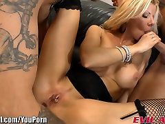 EvilAngel Big small asian bang sex Blonde video tui Threesome