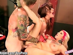 BurningAngel Punk Jessie Lee Threesome