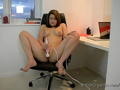 8 Horny British Girls Masturbating to Pussy Popping Orgasms