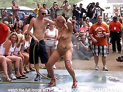 Amateur ali and silin Contest at This Years Nudes a Poppin Festival in Indiana