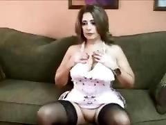 transforming shemale cory chase seduced stepson Masturbating