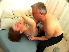 Cute Teen Fucks Daddy And Gets A freak of nature 33 sleeping massage cctv !