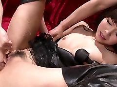 Horny Megumi Shino´s Teen Holes Fucked With ashokenagar habra Toys