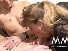 MMV Films Pierced mature wife gets cock