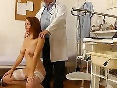 Doctor big boobs fat xxxx cam in gyno clinic exam room