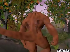 Hentai sex 3D fantasy with demons 4