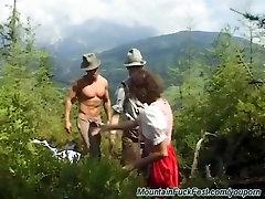 extreme rough mountain fuck fest