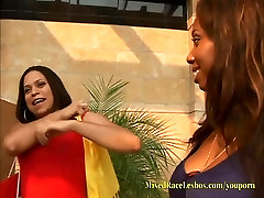 MixedRaceLesbos Insane 4 Girl Interracial xxx xxxgrandes Squirting
